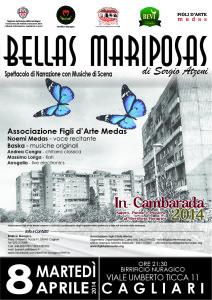 """Domani sera """"Bellas Mariposas"""" in scena al Birrificio Nuragico di Cagliari."""