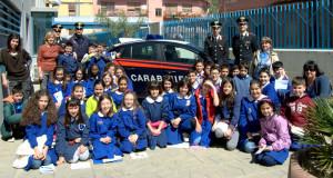Questa mattina gli alunni delle quinte classi della scuola elementare Pietro Allori di Iglesias sono stati accolti dai militari della Compagnia carabinieri di Iglesias.