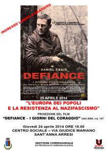 Locandina 25 aprile 2014 DefianceA4