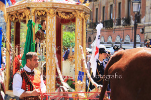 Cagliari si prepara a vivere, da lunedì 1 maggio, la solennità di Sant'Efisio.