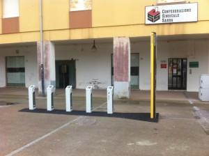 Stazione biciclette Piazza Rinascita 2