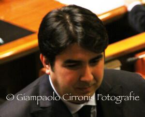 Il capogruppo del Psd'Az Christian Solinas critica il centrosinistra sull'approvazione a maggioranza della risoluzione sulle riforme.