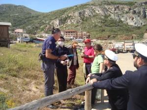 I militari dell'Ufficio Circondariale Marittimo di Portoscuso hanno aderito alla Giornata Ecologica di Buggerru.