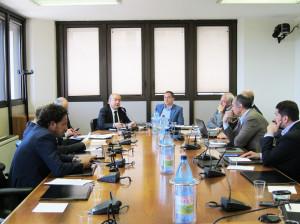 L'assessore regionale dell'Urbanistica Cristiano Erriu ha riferito questa mattina davanti alla Quarta Commissione sulle problematiche generali del settore.