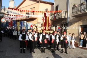 Immagini della 655ª processione di Sant'Antioco Martire.