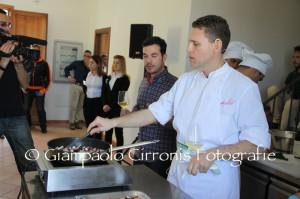 Vetrina internazionale per tre grandi chef sardi al ristorante Stelle D Stelle di Porto Cervo: Achille Pinna, Roberto Serra e Stefano Deidda.