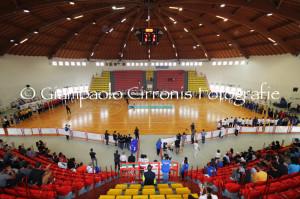 E' iniziata questa mattina, al Palazzetto dello Sport di Carbonia, la fase finale del #campionato italiano di calcio 5 #Fisdir.