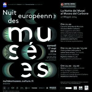 Il Museo del Carbone aderisce alla X edizione de La Notte Europea dei Musei.