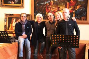 E' stata un successo la mostra di Stefano Masili e Shikanù, con la musica di Natascia Capurro, la poesia di Claudio Moica e le sculture di Giovanni Salidu.