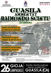 Guasila ricorda Raimondo Scintu con il settimo e penultimo evento di Teatro Popolare 2014.