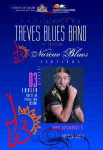 Scatta il 3 luglio, con l'esibizione in anteprima della Treves Blues Band, in Piazza Tola, a Sassari, l'edizione 2014 del Narcao Blues Festival.
