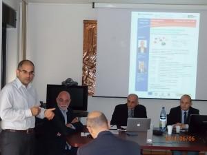Incontro tra imprese sarde e venete delle costruzioni ieri a Cagliari.