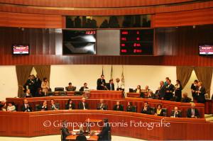 Seduta animata, ieri pomeriggio, in Consiglio regionale, per il dibattito sulle comunicazioni del presidente sul grave incidente verificatosi a Capo Frasca.