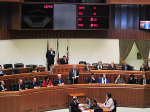 Il #presidente della Regione e la sua Giunta hanno presentato alla stampa il bilancio dei primi 100 giorni di attività.