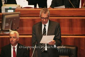 Il presidente Francesco Pigliaru riferisce in Consiglio regionale sull'accordo tra Governo e Regione in materia di #patto di stabilità.