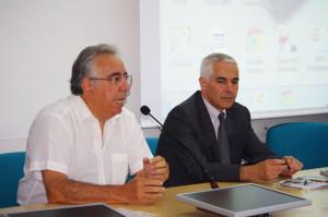 Franco Meloni e Emilio Gariazzo
