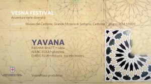 Sabato 7 giugno 2014, alle 19.00, la Lampisteria del Museo del Carbone ospita il terzo evento del Vesna Festival.