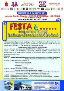 L'associazione #Cuochi Sud Sardegna ha organizzato una giornata di beneficenza che si terrà domenica 8 giugno a Iglesias.