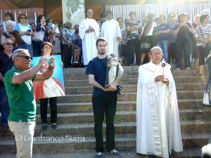 Tre giorni di festa a Iglesias e Carbonia per l'arrivo della #reliquia di San Giovanni Paolo II.
