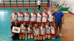 L'#Asd Scuola Volley Don Orione di Carbonia ha conquistato il titolo di #campione regionale Under 13 femminile per la stagione 2013-2014.