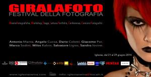 """Dal 21 al 29 giugno, a Iglesias, la seconda edizione del Festival della fotografia """"GIRALAFOTO""""."""