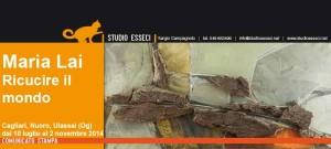 """Dal 10 al 12 luglio, """"Ricucire il mondo"""", progetto espositivo dei Musei Civici di Cagliari e del Museo MAN di Nuoro dedicato a Maria Lai."""