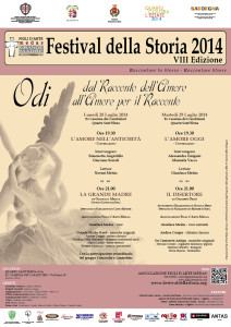 2014-07-28+29 Quartu Festival della Storia Locandina
