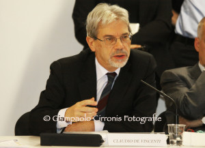 Vertice Regione-Governo, stamane a Villa Devoto, per la verifica sullo stato di attuazione del Patto per la Sardegna.