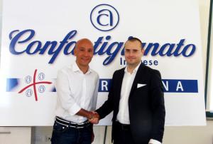 #Dinamo Banco di Sardegna e #Confartigianato Imprese Sardegna hanno sottoscritto un accordo per promuovere i prodotti sardi e le aziende artigiane in Italia e in Europa.