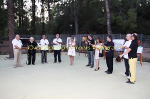 E' stata inaugurata ieri, nella splendida cornice del Parco Rosmarino, la rassegna Incontri – mostra collettiva di pittura.