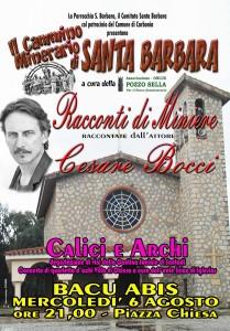 E' in programma da oggi a domenica, a Bacu Abis, la 56ª Sagra di Santa Barbara.