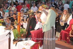 Francesco Anedda e Valentina Marras sono gli sposi del 46° #Matrimonio Mauritano, in programma il 3 agosto a Santadi.