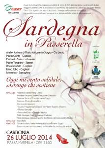 Sabato 26 luglio, alle ore 21.30, l'anfiteatro di piazza Marmilla, a Carbonia, ospiterà una sfilata di moda di stilisti sardi.