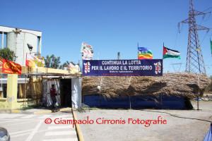 Cresce la preoccupazione tra i lavoratori #Alcoa che proseguono il presidio all'ingresso dello stabilimento di #Portovesme.