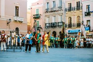 Il 15 agosto si rinnova anche quest'anno, a Iglesias, la tradizionale festa dell'Assunta con la #processione dei candelieri.