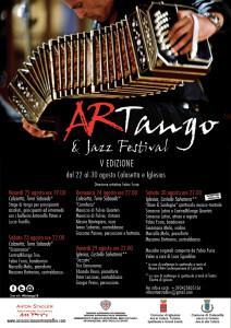 Dal 22 al 30 agosto 2014, a Calasetta e Iglesias, la 5ª edizione di #ArTango&jazz Festival.