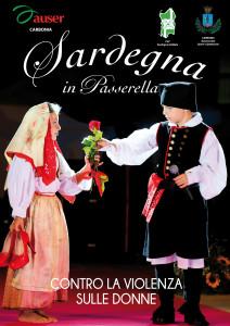 """Successo per la sfilata di moda """"#Sardegna in Passerella – Oggi mi sento solidale, sostengo chi sostiene"""" organizzata dall'Auser Ula di Carbonia."""