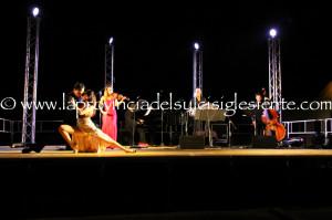 Splendido concerto nella quinta ed ultima tappa di #Carignano Music Experience 2014, ieri sera, alla #Grande Miniera di Serbariu.