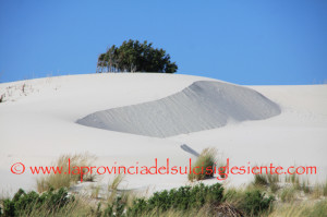 Tesori di Sardegna: le #dune di Teulada.