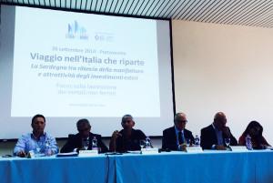 Francesco Pigliaru: «E' tempo di guardare ad altri tipi di sviluppo».