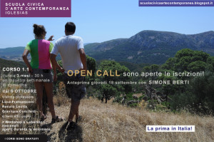 Giovedì 18 settembre, alle ore 19,00, presso la #Scuola Civica d'Arte Contemporanea di Iglesias si terrà l'incontro con l'artista Simone Berti.