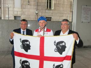 """Questa mattina il presidente del Consiglio regionale, Gianfranco Ganau, ha dato il via alla missione """"#Ammentos""""."""