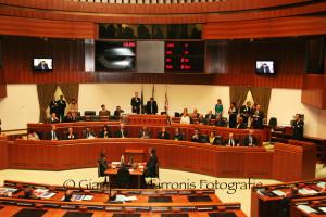 """Il Consiglio regionale ha approvato il disegno di legge 72 """"Disposizioni urgenti in materia di organizzazione della Regione""""."""