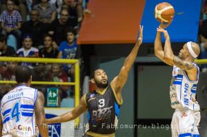Dinamo Banco di Sardegna SS Vs Orlandina Basket Capo D'Orlando Al 4° City Of Cagliari Nella foto al tiro David Logan Dinamo Basket
