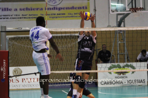 B1 di volley: Volley Segrate – VBA Olimpia Sant'Antioco 3-1 (25/19 25/21 22/25 25/19).