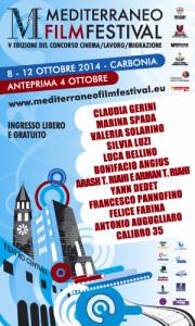 Sabato 4 ottobre, a Carbonia, l'anteprima della 7ª edizione del #Mediterraneo Film Festival.