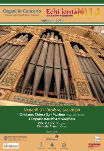 Venerdì sera a Oristano l'ultimo concerto della stagione autunnale dell'Associazione Echi Lontani.