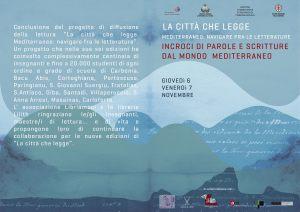 """Giovedì 30 ottobre, verrà presentato a Carbonia, il festival letterario """"La Città che Legge""""."""