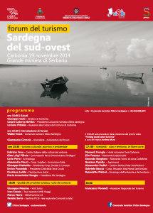 """La sala conferenze della Grande Miniera di Serbariu ospita oggi il Forum del turismo """"Sardegna del Sud Ovest""""."""