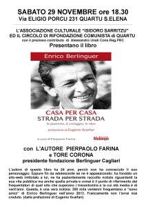 Presentazione del libro su Enrico Berlinguer